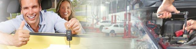Человек водителя Стоковое Изображение RF