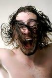 человек волос летания Стоковые Фото