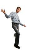 человек высокорослый Стоковая Фотография