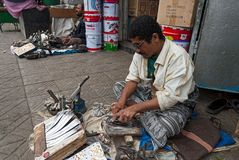 Человек в Йемене Стоковое Изображение RF