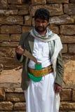 Человек в Йемене Стоковые Изображения RF