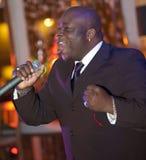 человек в реальном маштабе времени африканца пея Стоковое Изображение RF