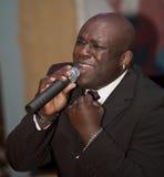человек в реальном маштабе времени африканца пея Стоковые Изображения