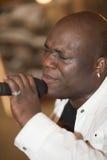 человек в реальном маштабе времени африканца пея Стоковая Фотография RF