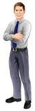 Человек в рубашке и связи Стоковая Фотография RF