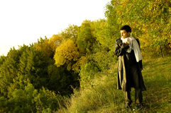 Человек в стране Стоковые Фотографии RF