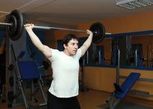 человек гимнастики Стоковые Изображения