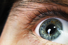 человек глаза стоковая фотография