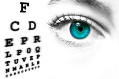 человек глаза Стоковая Фотография RF