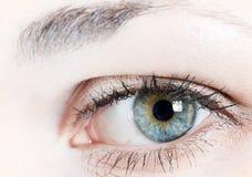человек глаза Стоковые Фотографии RF