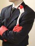 человек горничной Стоковая Фотография