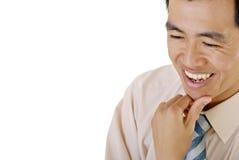 человек дела счастливый Стоковое фото RF