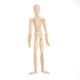 человек деревянный Стоковое фото RF