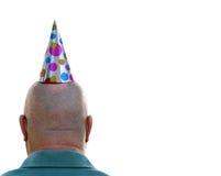 человек дня рождения Стоковые Фото
