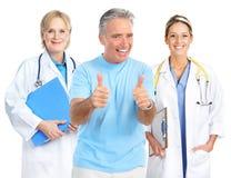 человек доктора пожилой здоровый стоковое фото