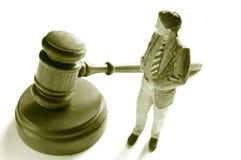 человек закона Стоковая Фотография