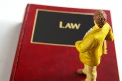 человек закона Стоковая Фотография RF