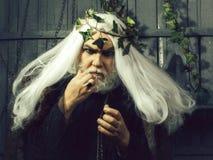 Человек Зевса бородатый стоковая фотография rf