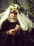 Человек Зевса с бородой стоковое изображение rf