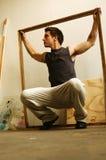 человек искусств Стоковая Фотография RF