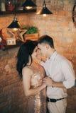 Человек и женщина празднуют Новый Год Стоковое Фото
