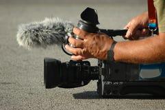 человек камеры Стоковые Изображения RF