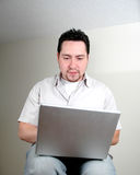 человек компьютера 5 стоковое фото