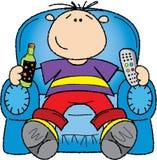 человек кресла Стоковая Фотография