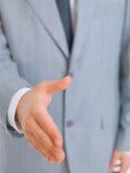 человек крупного плана дела Стоковая Фотография RF