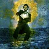 человек мистический Стоковое Изображение RF