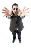 человек наручников Стоковые Изображения RF