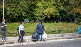 Человек на улице Стоковое Фото