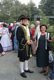 Человек одетьнный в барочном типе Стоковое Изображение