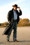 человек пальто Стоковые Фото