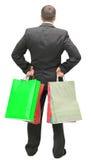 Человек покупкы Стоковые Фото