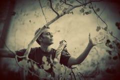 Человек природы стоковое изображение rf