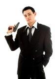 человек пушки Стоковые Фото