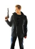 человек пушки Стоковое фото RF