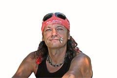Человек - романтичный герой Стоковые Фотографии RF