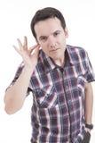 человек руки уха Стоковое Изображение RF