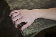 человек руки Стоковые Фотографии RF