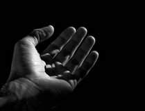 человек руки Стоковая Фотография RF