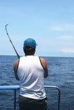 человек рыболовства стоковые изображения