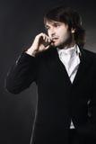 человек сигары шикарный красивый стоковая фотография rf