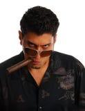 человек сигары Стоковая Фотография RF