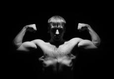 человек сильный очень Стоковые Фотографии RF