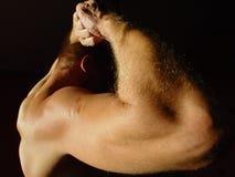 человек сильный Стоковая Фотография