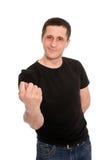 человек смоквы Стоковое Изображение RF