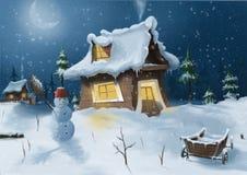 Человек снежка Стоковые Изображения