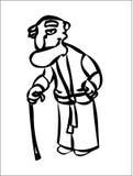 человек старый Стоковые Фото